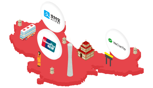Accept WeChat Pay, Alipay and China UnionPay | SiamPay